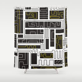 Resonate Connection Shower Curtain