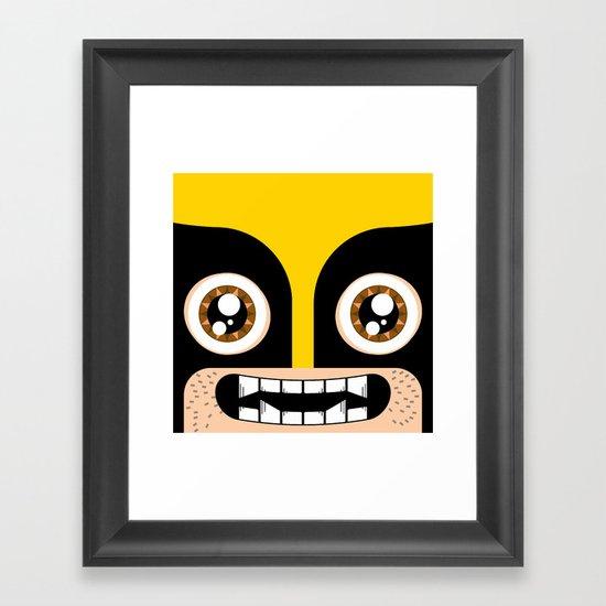 Adorable Wolverine Framed Art Print