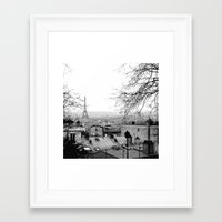 paris Framed Art Prints featuring Paris by Studio Laura Campanella