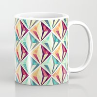 diamonds Mugs featuring Diamonds by VessDSign