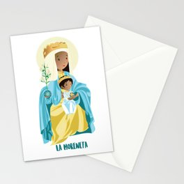 La Moreneta. Virgin of Montserrat Stationery Cards