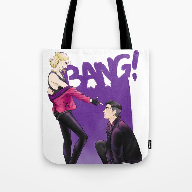 Bang Bang Otayuri Yuri On Ice Tote Bag By Annamustdie Society6