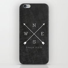 East & West iPhone & iPod Skin