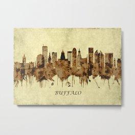Buffalo New York Cityscape Metal Print