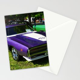 1971 MOPAR plum crazy Hemi Charger RT photograph / photography / poster Stationery Cards
