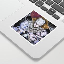 IT Clown Sticker