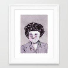 Eva Framed Art Print