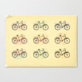 bicicletas Canvas Print