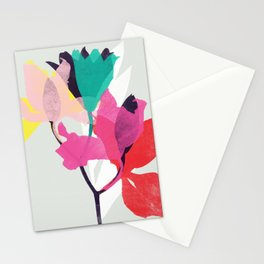 lily 31 sq Stationery Cards