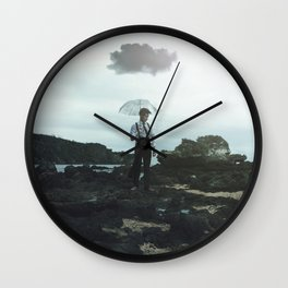 The Back of my Mind Wall Clock