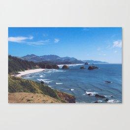 Ecola State Park Canvas Print