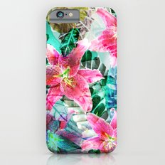 Jungle Lilies Slim Case iPhone 6s