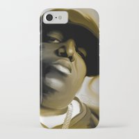 biggie smalls iPhone & iPod Cases featuring The Notorious B.I.G (Biggie Smalls) by darylrbailey