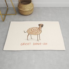 Great Dane-ish Rug