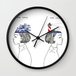The Chaos and The Calm Wall Clock