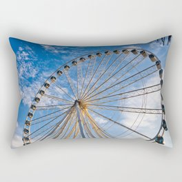 Ferris Wheel 8 Rectangular Pillow