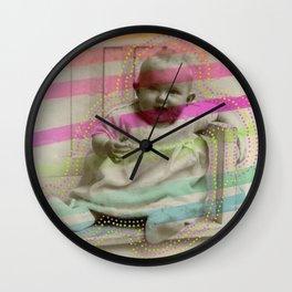 Shiny Happy People Wall Clock