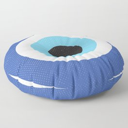 Evi Eye Symbol Floor Pillow