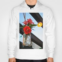 outdoor Hoodies featuring Outdoor Decor by Kim Ramage