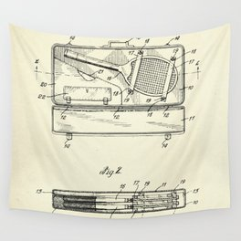 Container for Tennis Racket and the Like-1925 Wall Tapestry