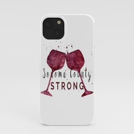 Sonoma County Strong iPhone Case