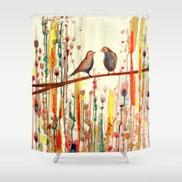 les gypsies Shower Curtain