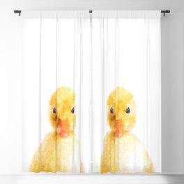 Duckling Portrait Blackout Curtain