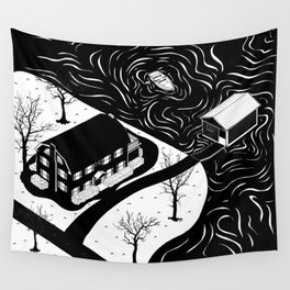 Amityville Horror House Wall Tapestry