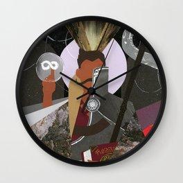 Dorian Pavus Tarot Paper Art Wall Clock