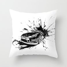 GTR Inked Throw Pillow