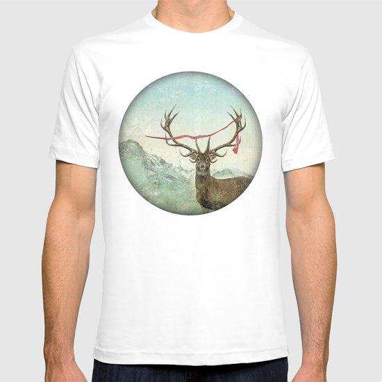 hold deer, tsunami T-shirt