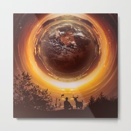 A WORLD OF PEACE Metal Print