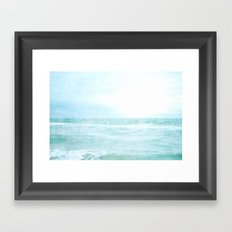 Me and the Sea Framed Art Print