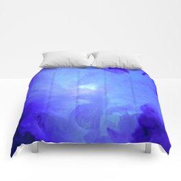 Textures (Blue version) Comforters