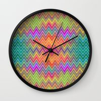 hippy Wall Clocks featuring Hippy 2 by HK Chik