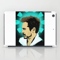 stark iPad Cases featuring Tony Stark. by Tomcert