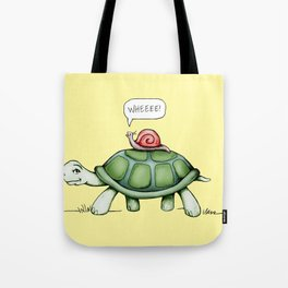 The Snail & The Turtle Tote Bag