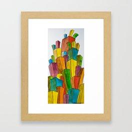 population control Framed Art Print