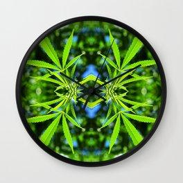 Pot Pattern Wall Clock