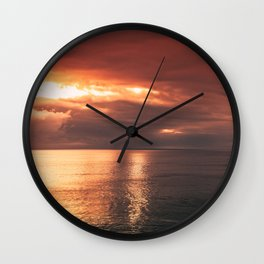 Water & Fire Wall Clock