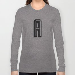 Letter A Long Sleeve T-shirt