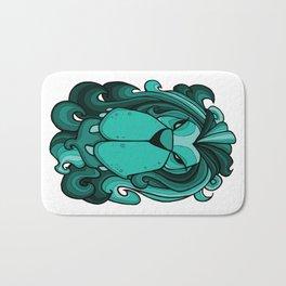 Lion - Arcadia Blue Green Bath Mat