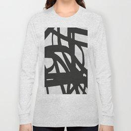 Black lines Long Sleeve T-shirt