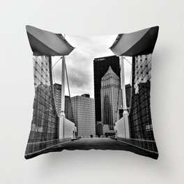 fever dreams in steel city Throw Pillow