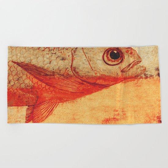 Piscibus 11 Beach Towel