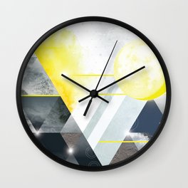 Gift Wrap One Wall Clock