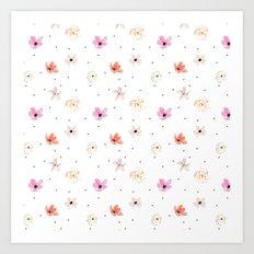 Poppy Rose Art Print