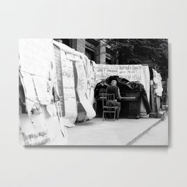 Revolution Piano Metal Print