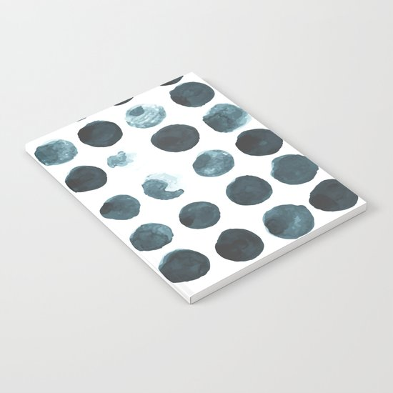 Faded dots Notebook
