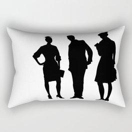 Business People Rectangular Pillow